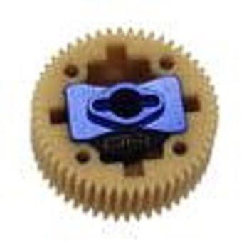 HOT RACING Aluminum Differential Posi Locker Spool DR10