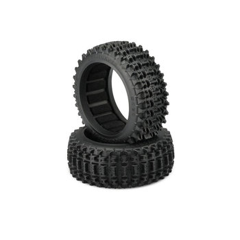 Magma Tire, Yellow Compound (2): 83mm 1/8th Buggy