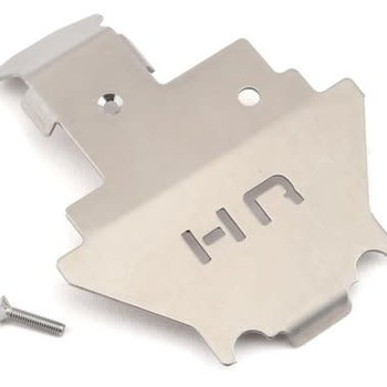 HOT RACING Stainless Armor Skid Plate Center: TRX 4