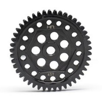 HOT RACING Steel Spur Gear, 45 Tooth, 32 Pitch, for Traxxas TRX-4