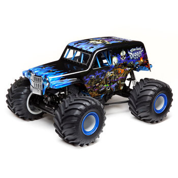 LOSI LMT:4wd Solid Axle Monster Truck, SonUvaDigger:RTR (Partial Shipping included in online price to lower 48 states)