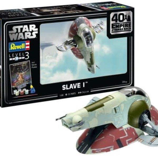 revell 1:88 Star Wars Slave I - 40th Anniversary