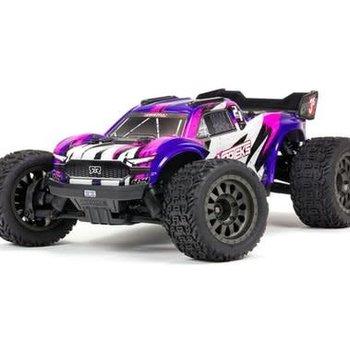 arrma VORTEKS 4X4 3S BLX 1/10th Stadium Truck (Purple) (Online price includes ground shipping to the lower 48 states)