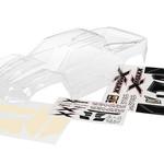 Traxxas 7711 Body X-Maxx Clear/Decal Sheet