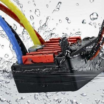 QUICRUN 880, Waterproof ESC for Dual Brushed Motors.