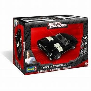 revell 1/24 Dom's Plymouth GTX 2'N1