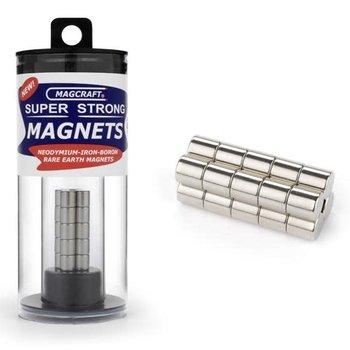 "MAGCRAFT 1/4""x1/4"" Rare Earth Rod Magnets (20)"