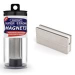 "MAGCRAFT 2""x1/2""x1/8"" Rare Earth Block Magnets (4)"