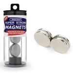 "1""x1/8"" Rare Earth Disc Magnets (4)"