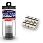 "1/2""x1/4"" Rare Earth Disc Magnets (8)"