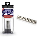 """MAGCRAFT 1/4""""x1/8"""" Rare Earth Disc Magnets (40)"""