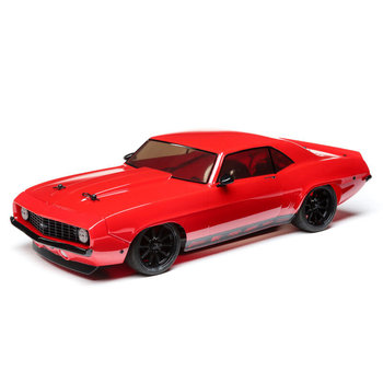 LOSI 1/10 1969 Chevy Camaro V100 AWD Brushed RTR, Red (Online price includes shipping to the lower 48 states)