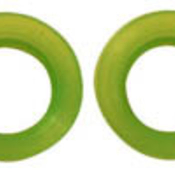 RC-ONE EXHAUST GASKET 21 NEON GRN (2)