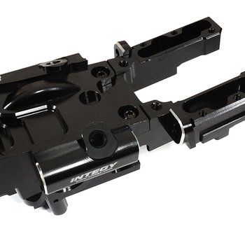 Integy Billet Machined Front Bulkhead for Traxxas 1/10 E-Revo 2.0 C29995BLACK