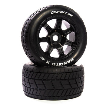 DuraTrax Bandito X Belted Mounted Black 24mm Kraton 8S (2)