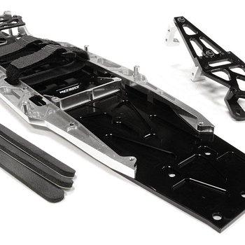 Integy C26146SILVER Complete LCG Chassis Conv Kit 1/10 Slash