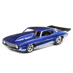 LOSI 1/10 '69 Camaro 22S No Prep Drag Car, Brushless 2WD RTR, Blue (Online price includes ground shipping to the lower 48 states)
