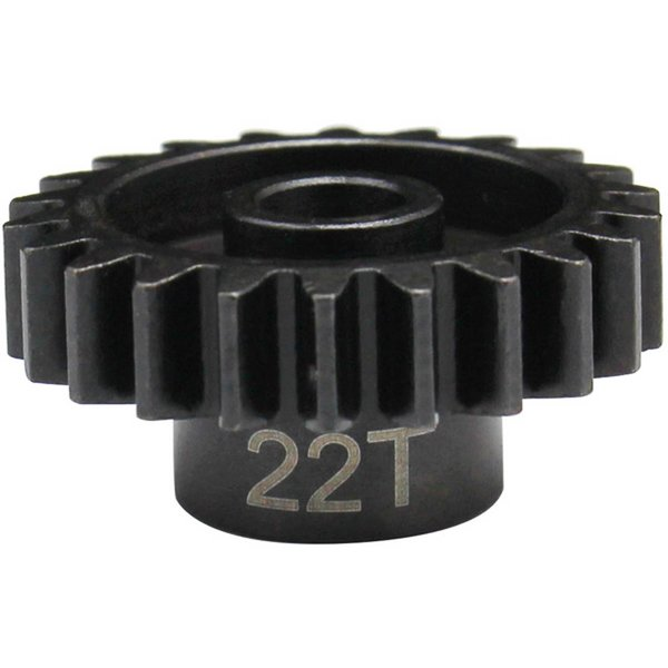 HOT RACING 22t Mod 1.5 Hardened Steel Pinion Gear 8mm Bore