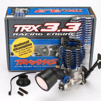 Traxxas TRX 3.3 Engine Multi-Shaft w/Recoil Starter