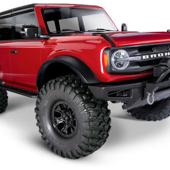 Traxxas 92076-4 - Crawler with 2021 Ford Bronco Body: 1/10 Scale 4WD Electric Truck. SORRY THIS IS AVALIABLE FOR IN STORE SALES ONLY $550