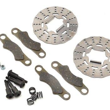 LOSI Brake Disc, Pad and Screw Set: 5B, 5T, MINI WRC