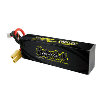 GENSACE Gens Ace 6800mAh 14.8V 120C 4S1P Lipo Battery Pack With EC5 Plug