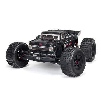 arrma OUTCAST 6S 4WD BLX 1/8 EXB Stunt Truck RTR Black (NO SHIPPING UNTIL JULY 23RD)
