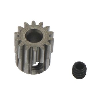 Robinson Racing Hardened 48 Pitch Absolute Pinion 14T, 1/8 3m SS