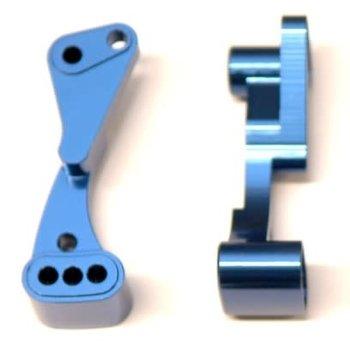strc Blue Wheelie Bar Mount, for Associated DR10 - CNC Machined Aluminum