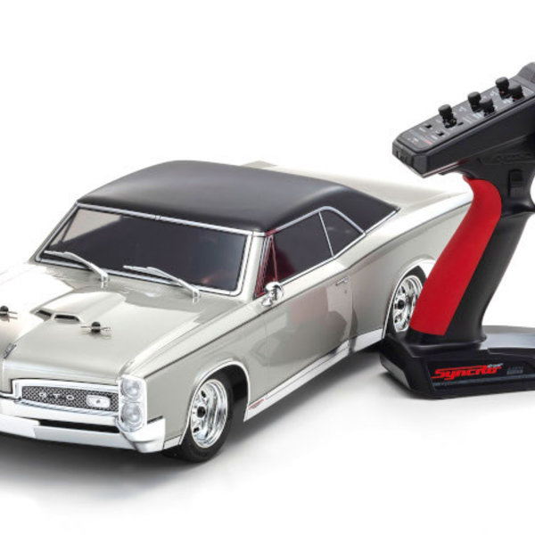 KYOSHO 1/10 Electric 4WD 1967 Pontiac GTO Champagne Metallic (Partial shipping included in price)