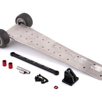 HOT RACING Speed Run Stainless Steel Wheelie Bar for Arrma1/8