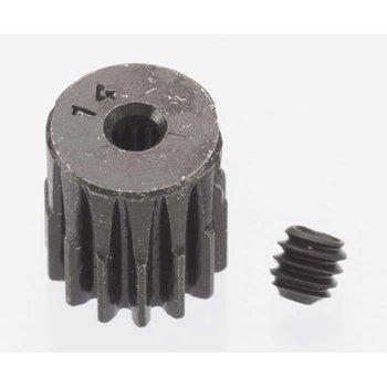Robinson Racing Hard Blackened Steel Mini Pinion 2mm, .5 Mod 14T