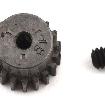 Robinson Racing Hard Blackened Steel Mini Pinion 2mm, .5 Mod 18T