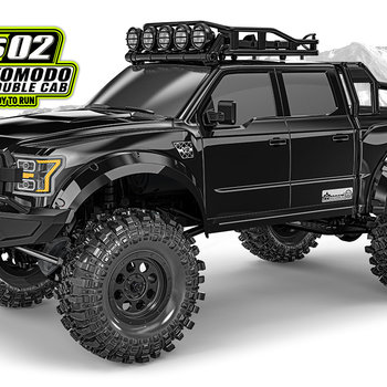 GMADE Komodo Double Cab TS RTR 1/10 Scale Crawler (Online price includes ground shipping to the lower 48 states)