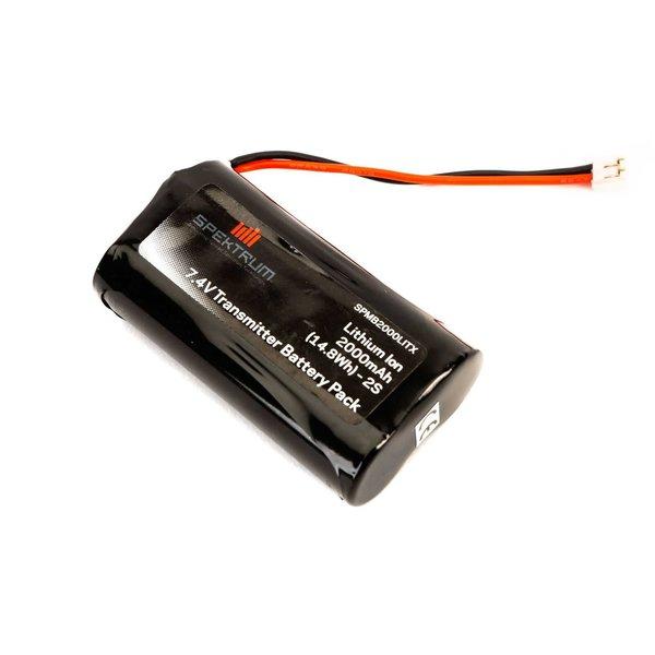 Spektrum 2000 mAh TX Battery: DX9,DX7S,DX8
