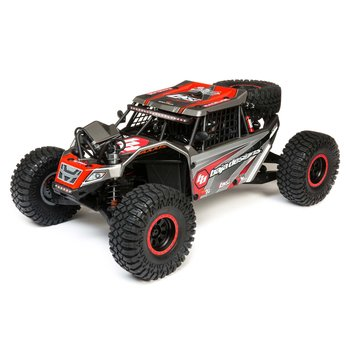 LOSI Super Rock Rey: 1/6 4WD Elec Rock Racer, RTR Gray (Online price includes ground shipping to the lower 48 states)