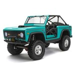 1/10 SCX10 III Early Ford Bronco 4WD RTR, Turquoise Blue