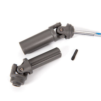 Traxxas Driveshaft assembly (1), left or right (fully assembled, ready to install)/ screw pin (1)