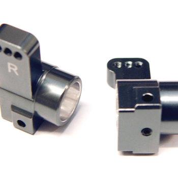 ST Racing Concepts Gun Metal Rear Hub Carriers, for Associated DR10, CNC Machined Aluminum, 0-deg. Toe-In, 1pr