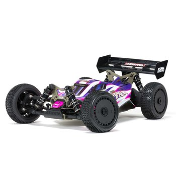 arrma TLR Tuned TYPHON 1/8 4WD Roller (Pink/Purple) (Online price includes ground shipping to the lower 48 states)