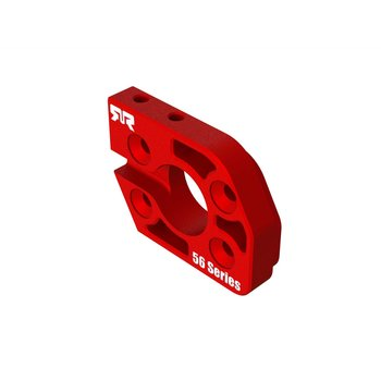 arrma Aluminum Motor Plate 56 Series Red