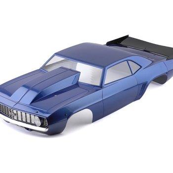 LOSI 69 Camaro Body Set, Blue: 22S Drag