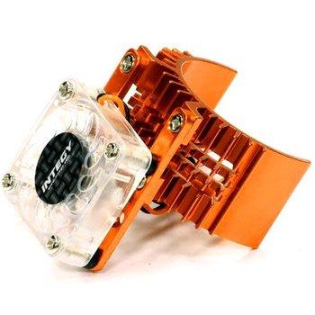 Integy T8074ORANGE MOTOR HEATSINK W/FAN