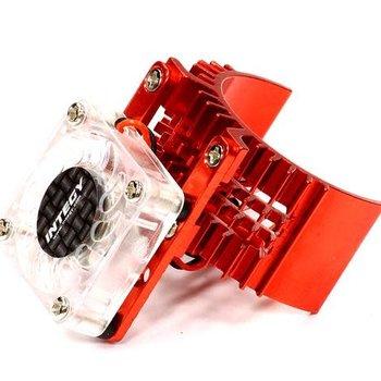T8074RED Motor Heatsink w/Cooling Fan Slash/Stampede