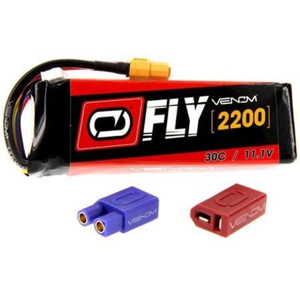 VENOM 25077 LiPo 3S 11.1V 2200mAh 30C X-Plug Fly
