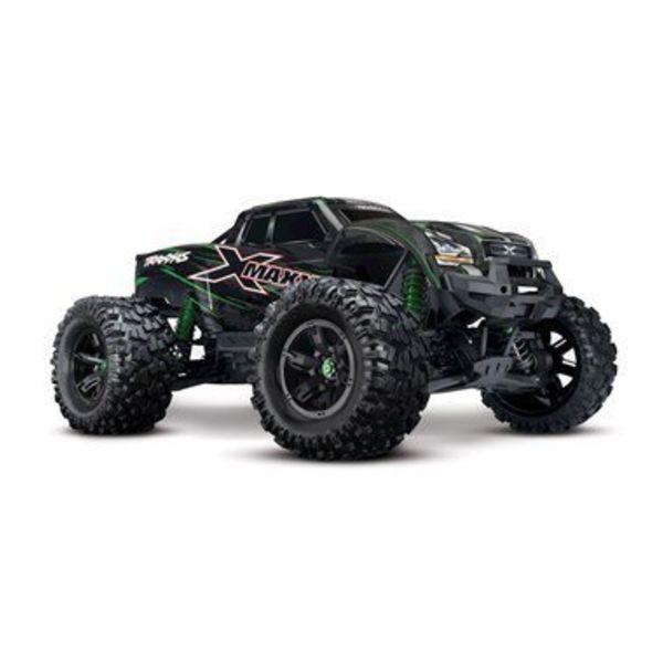 Traxxas X-Maxx: Green 4WD 8S-Capable Brushless Truck w/TSM