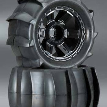 "PROLINE 1179-11 Sling Shot 3.8"" Sand Tire Mounted 17mm Fr/Re"