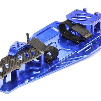 Integy T8655BLUE Performance Conversion Chassis Kit 1/10 Bandi