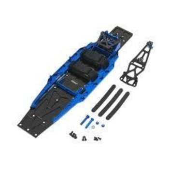 Integy C26146BLUE Complete LCG Chassis Conv Kit 1/10 Slash 2WD