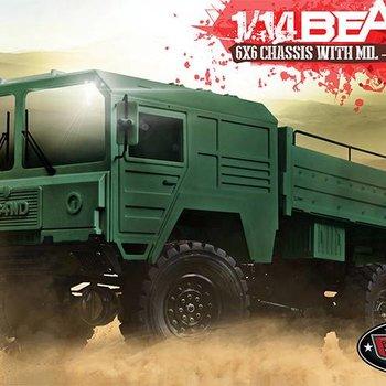 RC4 RC4WD Beast II 6x6 Truck Kit